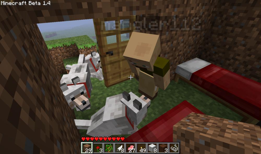 Minecraft Beta 1.4 And Supply Crates (2/6)